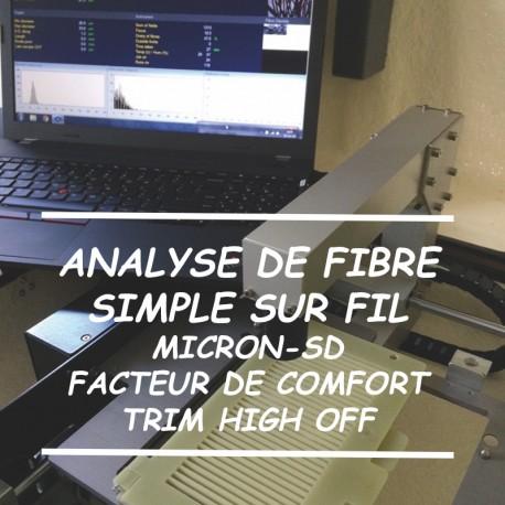 Analyse de Fibre sur fil